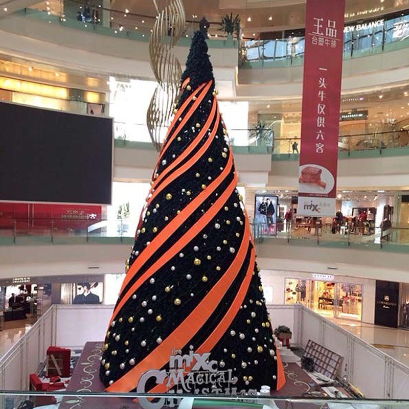Social development direction of Giant Christmas tree company at different times