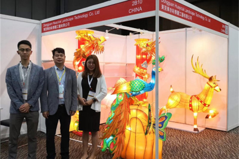 BOSS AND 2 COLLEAGUES ON THE CANTON FAIR