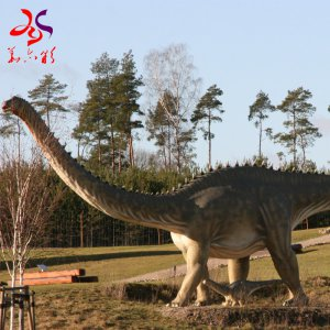 Large Outdoor Moving Sol Artificial Animal Kingdom Animatronic Dinosaur From China