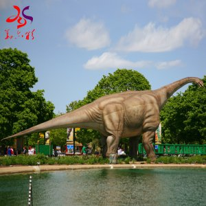 Animatronic Dinosaur On Exhibition From Chinese Factory