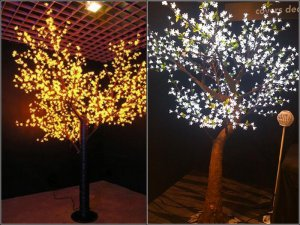 Garden Decorations Artificial Maple Tree With Built-in LED Light