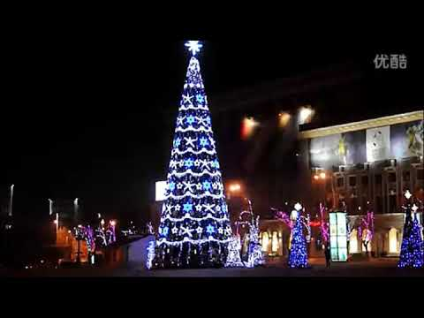 huayicai customized commercial christmas tree