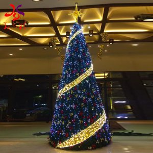 How to distinguish the ability of commercial Christmas tree manufacturer