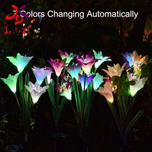 What kind of Solar Garden Flower stake manufacturer would not be deceived?